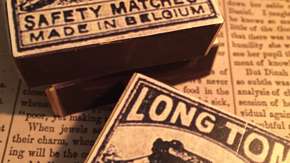 Long Tom Matches - The Great War