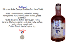 Bullhead Bourbon - Silver Medal