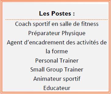 Métiers BP JEPS Educateur Sportif AFORA