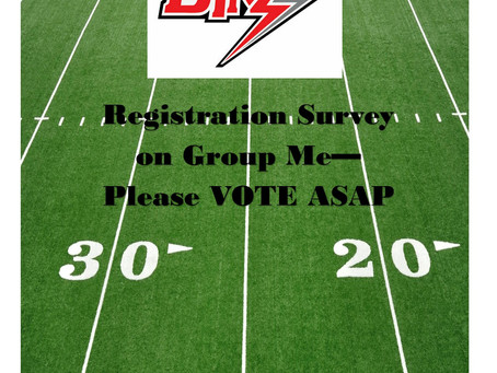 Registration Survey