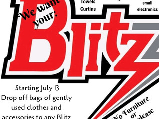 Last days of Blitz Clothes Fundraiser