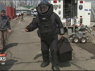 INSIDE THE NYPD BOMB SQUAD
