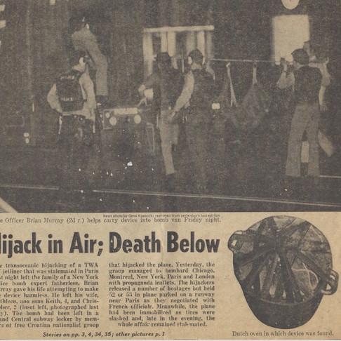 Hijack in Air; Death Below
