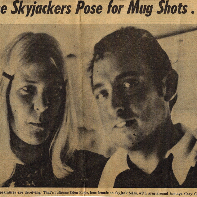 Skyjackers Pose for Mug Shots