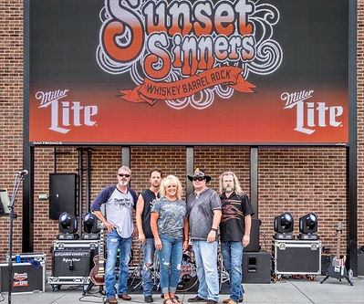 Sunset Sinners with Connor's Cuddles Foundation