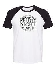 Sunset Sinners Friday Night Baseball Sleeve Shirt