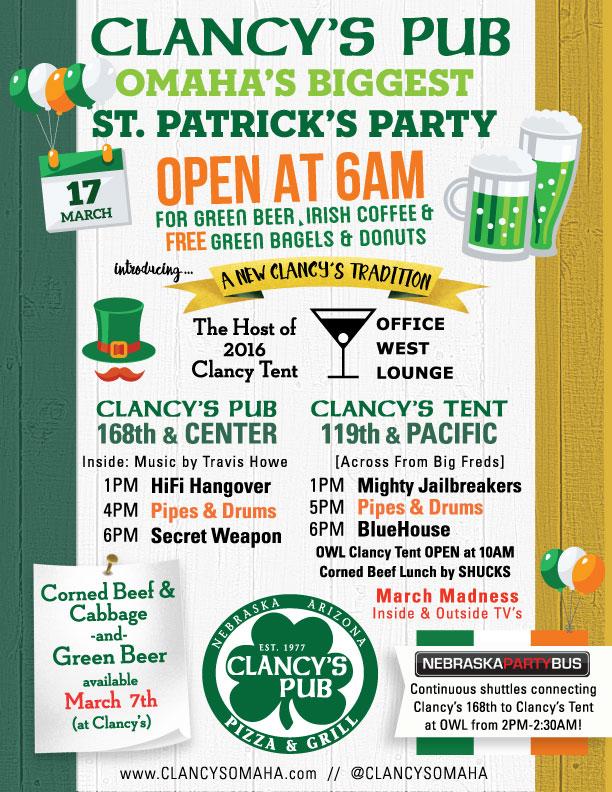 St Patricks 2016 Poster