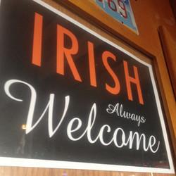 Irish Always Welcome at Clancy's