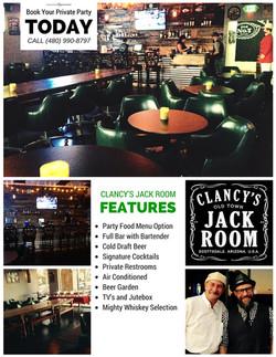 Clancy's Jack Room - Arizona