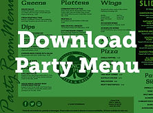 Clancy's Pub Party Menu - Limited manu available for Private Parties