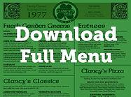 Clancys Pub Full Menu Download