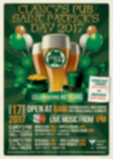 Clancy's Pub 2017 St. Patrick's Day Party