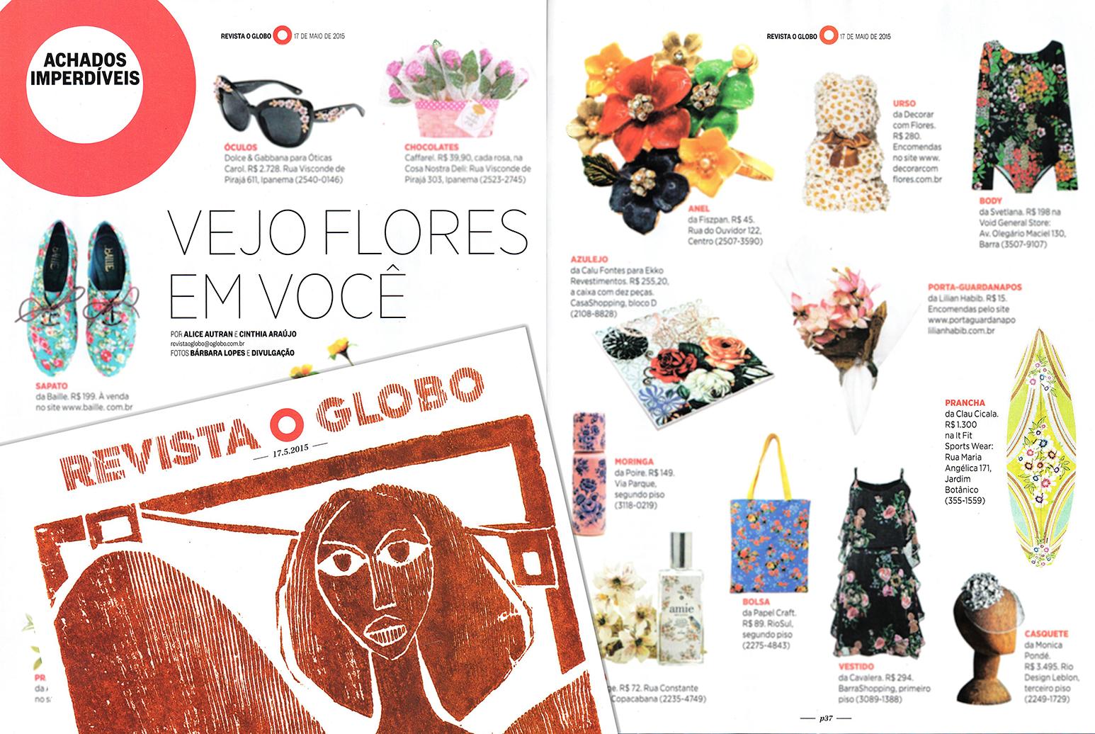 Revista O Globo 2015
