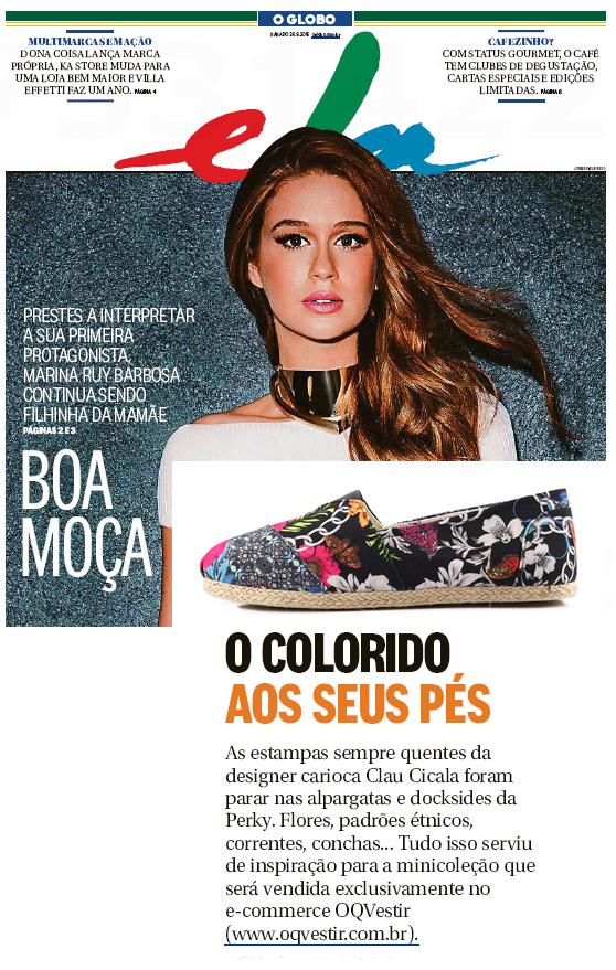 Caderno ELA - Jornal O Globo