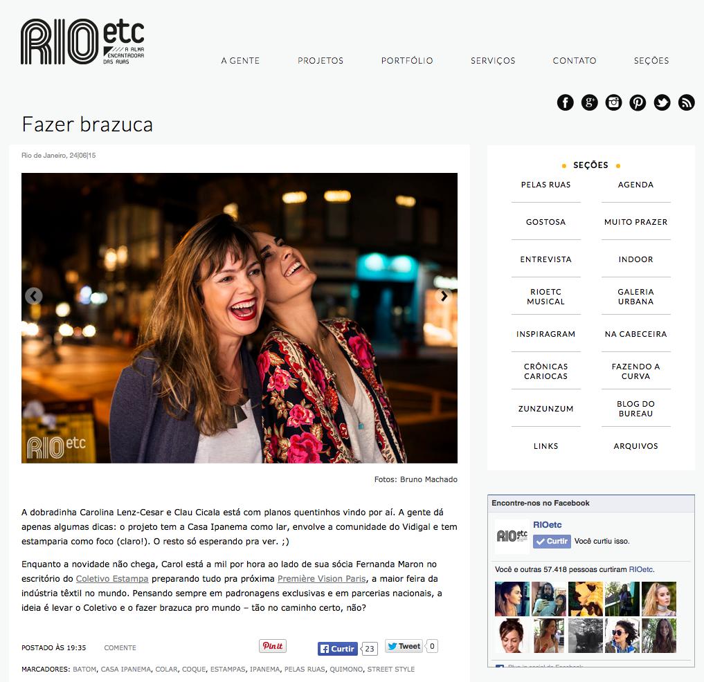 Blog RIOetc