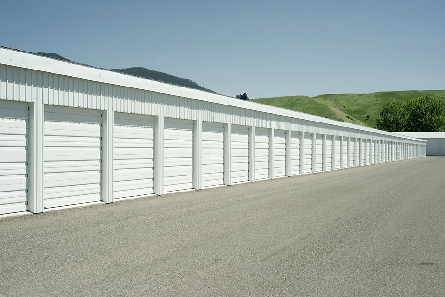 Storage units at a local space locker re