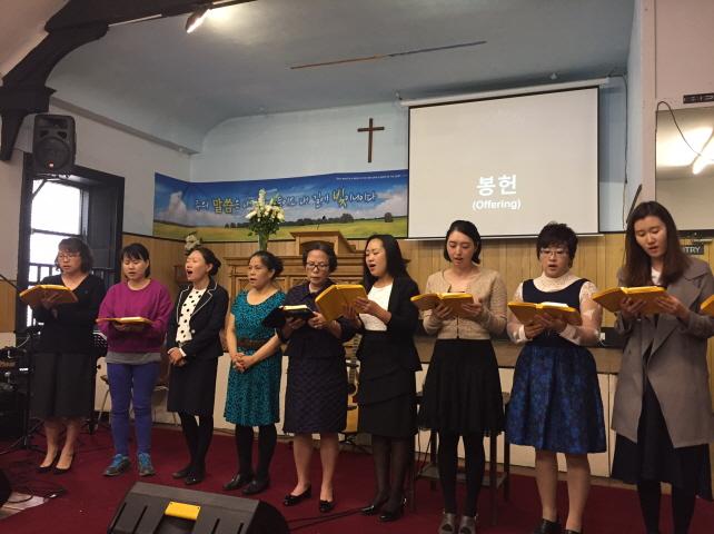 여전도회 헌신예배