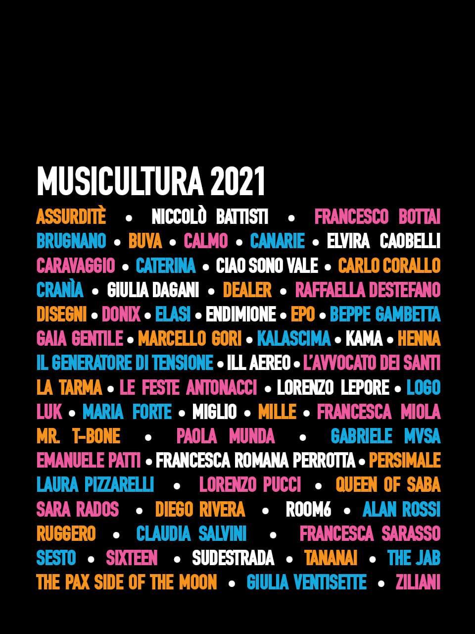 Luk selezionato per Musicultura 2021