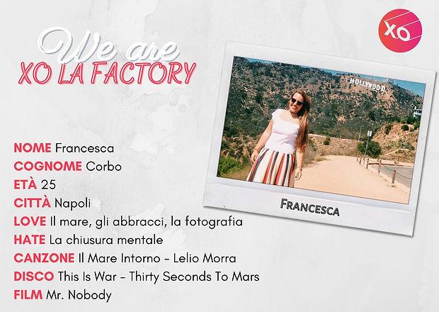 Francesca XO