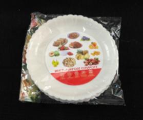 Plastic Plate (Round)