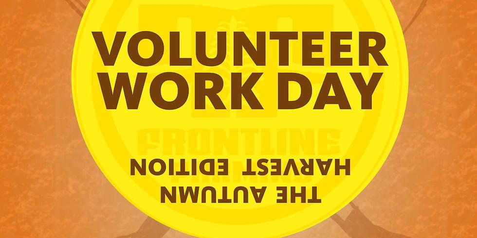 The Autumn Harvest Edition Volunteer Work Day