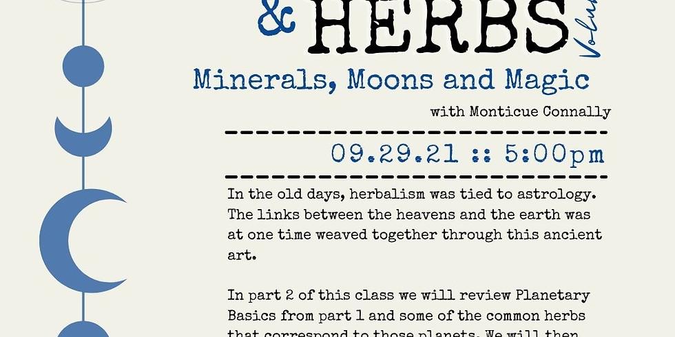 FLF Herbal Knowledge Series: Planets & Herbs: Volume II