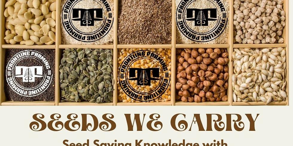 FLF Farmer Knowledge Series: Seeds We Carry • Seed Saving with Fatuma Emmad