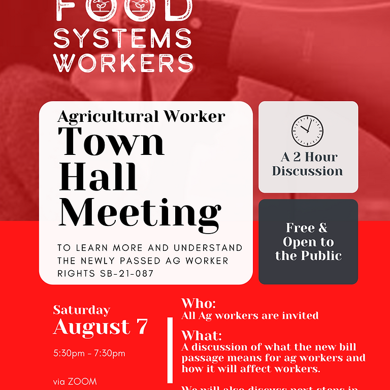 PPFS Ag Worker Town Hall