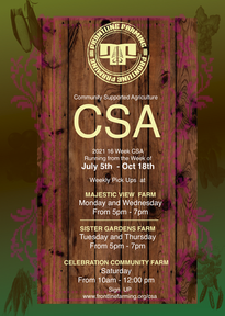 Sign Up for Your CSA!