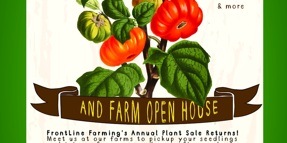Spring 2019 Seedling Plant Sale • MAY 11TH