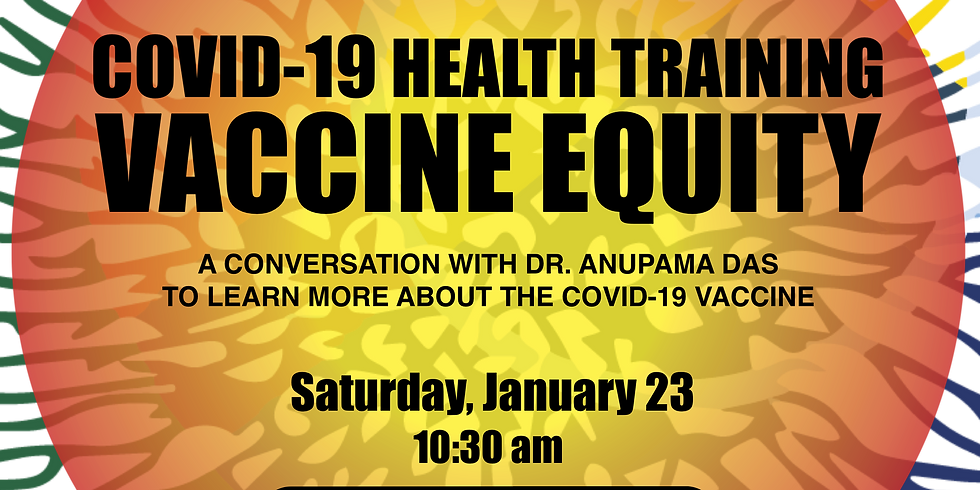 PPPN COVID-19 HEALTH TRAINING: VACCINE EQUITY