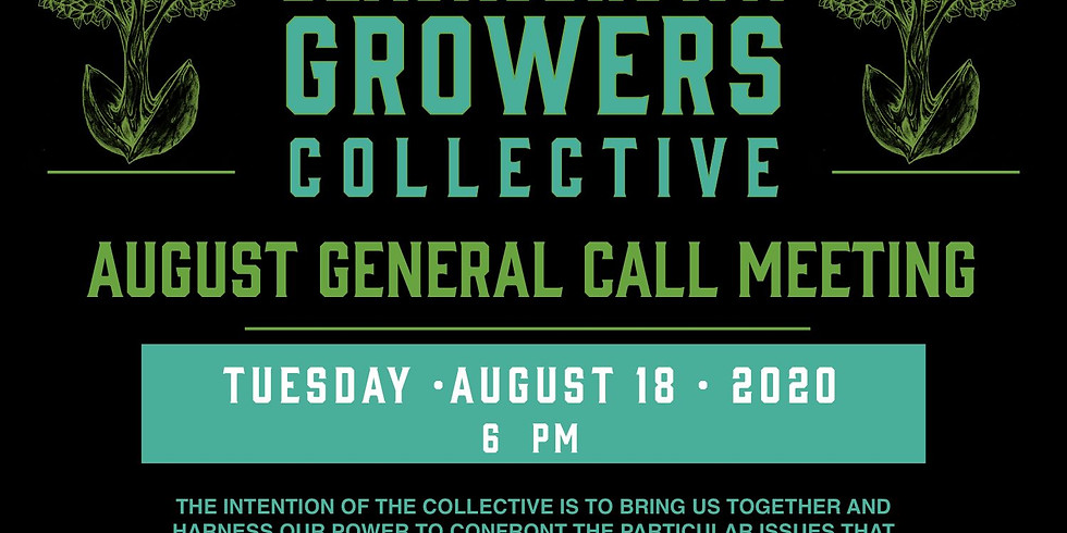 August BLACK AND BROWN GROWERS COLLECTIVE: ZOOM General Call Meeting  (4)