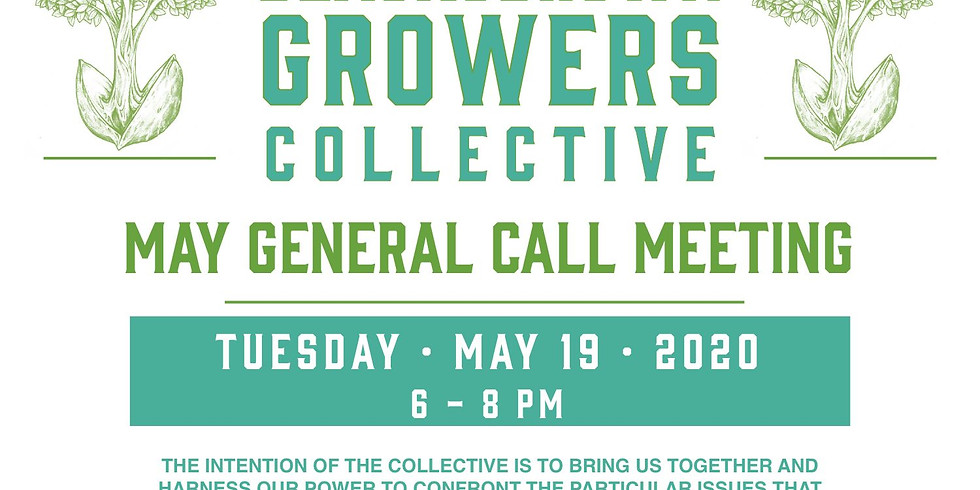 BLACK AND BROWN GROWERS COLLECTIVE: ZOOM General Call Meeting  (1)