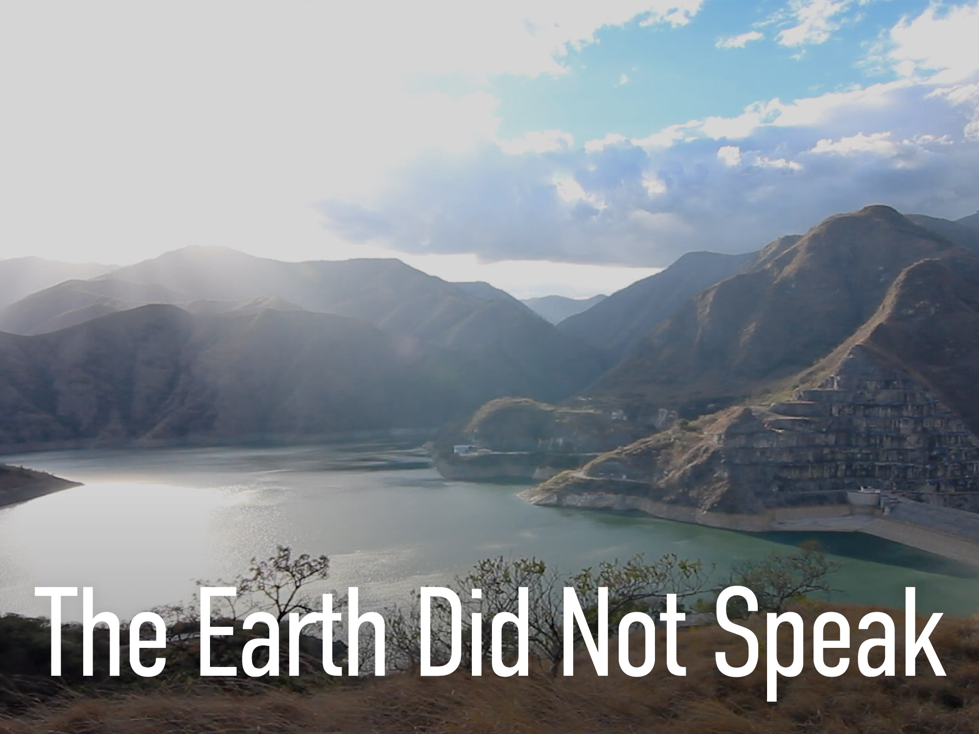 The Earth Did Not Speak