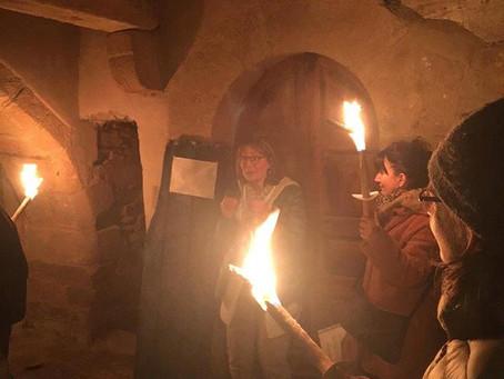 Soirée médiévale...Sauveterre de Rouergue. Les vendredi en juillet -août