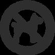 logo chiens Animaux interdits