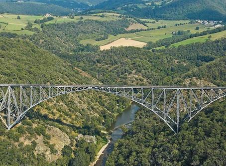Viaduc du Viaur, Aveyron/Tarn - Arcs équilibrés