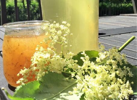 Kir aux fleurs de sureaux