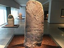 Statues menhirs, Musée Fenaille, Rodez