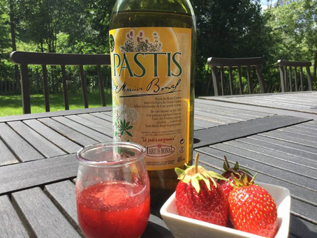 Confiture de fraises et patis...Aveyronais!