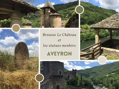 Brousse-le-Château : plus beaux village de France