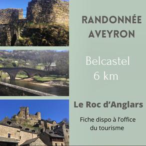 Randonnez sur Belcastel le long de l'Aveyron