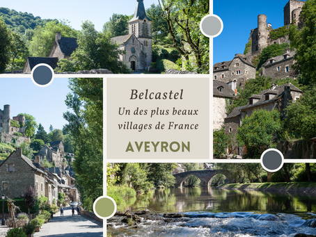 Belcastel : plus beaux village de France