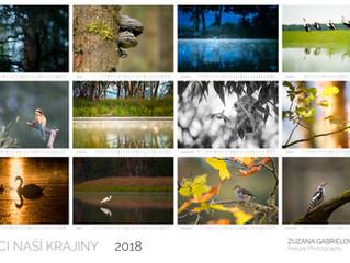 Kalendář Ptáci naší krajiny 2018