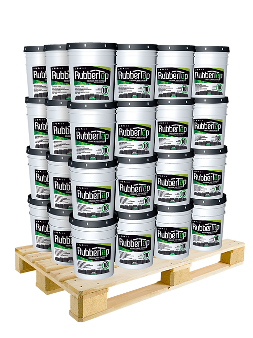 RubberTop White Roof Coating 5.0 GAL- 25% OFF: 1 Pallet Purchase