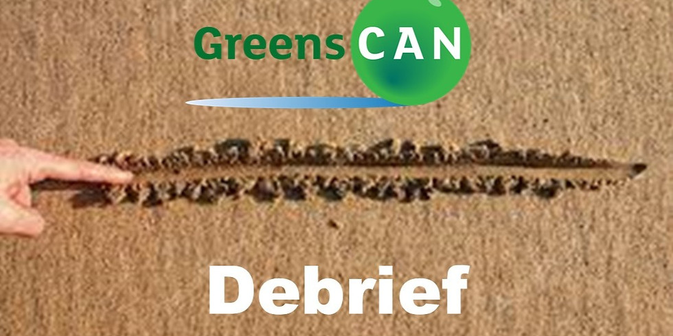 Draw a line in the sand - Debrief