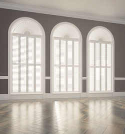 Full Height with Shape Shutters