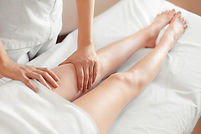 Lymphatic Drainage Massage legs