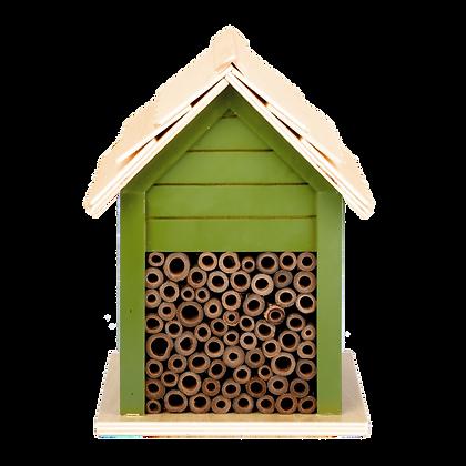 Hôtel à insectes maisonnette