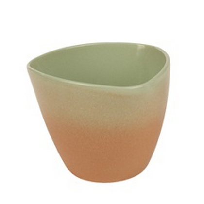 Cache-pot céramique dégradé